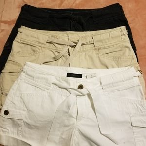 Express shorts- 3 pairs all size 4